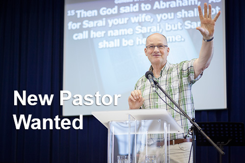 We are looking for a new Pastor, find out more here.